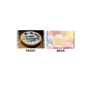 Mini-Birthday Personalized Candy Bar Wrapper MN001