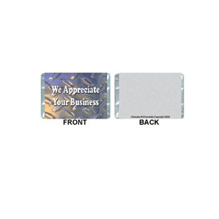Mini-Business Personalized Candy Bar Wrapper MN002