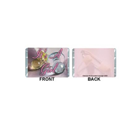Mini-Girl Personalized Candy Bar Wrapper MN004