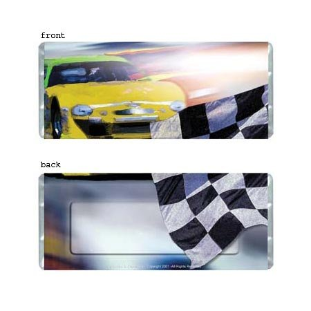 Race Car Personalized Candy Bar Wrapper Only AP049