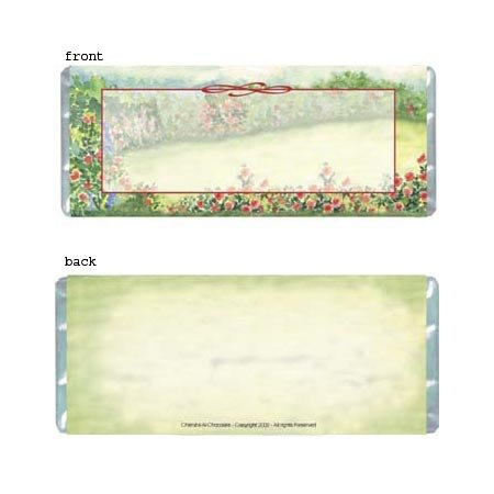 Meadow Personalized Candy Bar Wrapper Only AP052