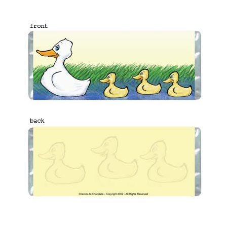 Ducks Personalized Candy Bar Wrapper AP065-C