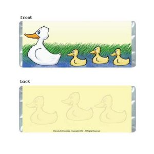 Ducks Personalized Candy Bar Wrapper Only AP065