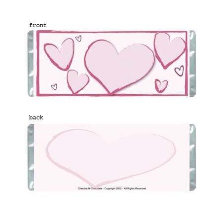 Heartfelt 1 Personalized Candy Bar Wrapper AP068-C