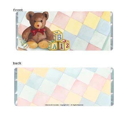Precious Baby Personalized Candy Bar Wrapper BA022-C