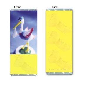 Stork Dreams Personalized Candy Bar Wrapper BA026-C