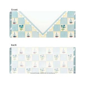 Boy Envelope Personalized Candy Bar Wrapper Only BA028