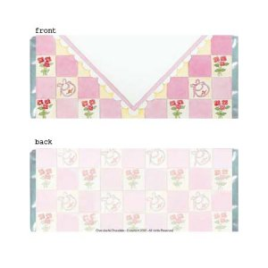 Girl Envelope Personalized Candy Bar Wrapper Only BA029