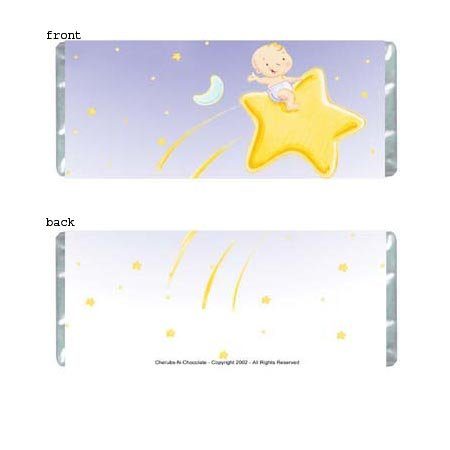 Star Baby Personalized Candy Bar Wrapper BA036-C