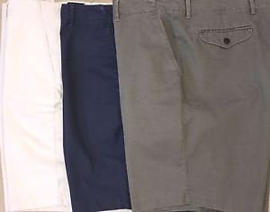 Dockers Men's D3 Classic-Fit Flat Front Solid 10-Inch Cotton Soft Khaki Shorts