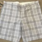Dockers Men's D2 Straight-Fit Flat Front Plaid 10-Inch 100% Cotton Khaki Shorts