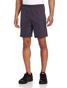 ASICS Men's Optic 7-Inch Running Shorts - Steel/Zest, XX-Large