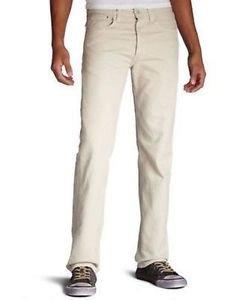 Levi's 501 Men's Original Fit Straight Leg Button Fly Denim Jeans Grit