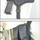 Deluxe Universal Horizontal Shoulder Holster (black)