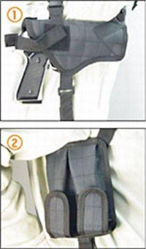 Deluxe Universal Horizontal Shoulder Holster (black)
