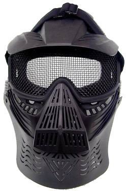 Airsoft Mask - Wire Mesh Lens (black)