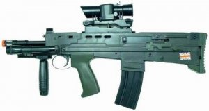 Hfc Tactical L85 British Bullpup With Flashlight