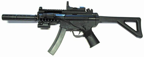 Well Mp5-pdw With Laser