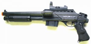 Riot Shotgun With Laser