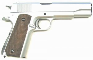Uhc 1911 Airsoft Heavy Weight Spring Pistol (silver)