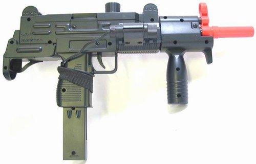 Double Eagle Uzi Kit, 2 Different Looks With Laser