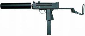 Hfc M11 Semi & Full Automatic Airsoft Gas Pistol (blowback)