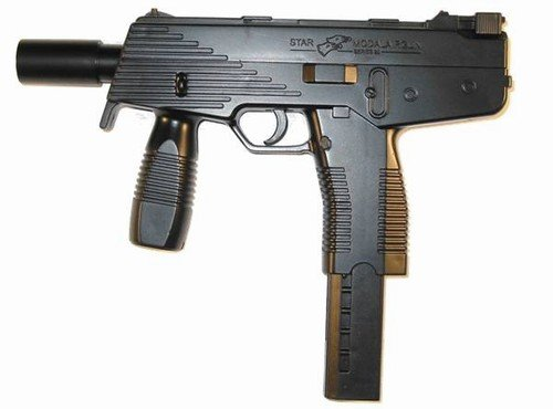 Double Eagle Tmp Airsoft Pistol With Free Spare Mag