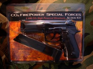 M190 Special Forces CO2 Blowback