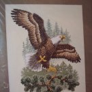 Landing Eagle Cross Stitch Kit New