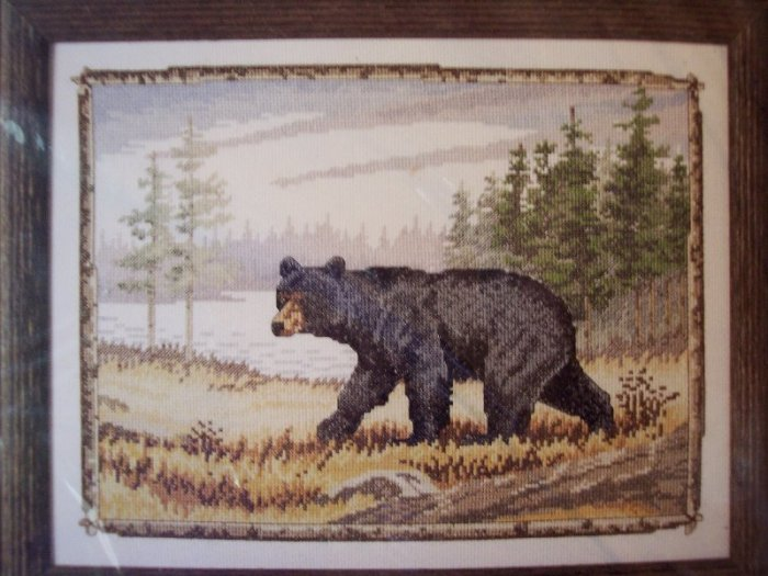 Majestic Bear Cross Stitch Kit New