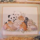 Endangered Species Collage Cross Stitch Kit New