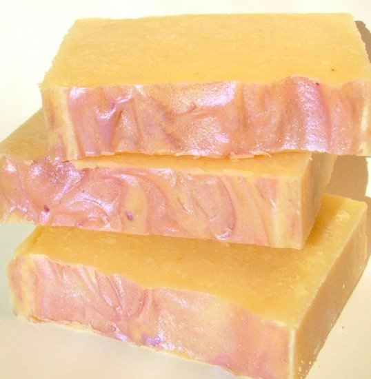 Clementine Lavender Handmade Soap