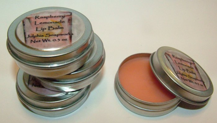 SALE Raspberry Lemonade Lip Balm 0.30 oz Tin