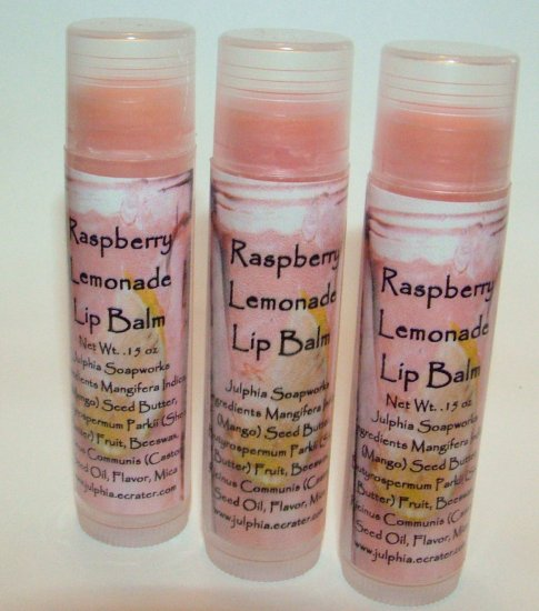 Raspberry Lemonade Lip Balm 0.15 oz Tube