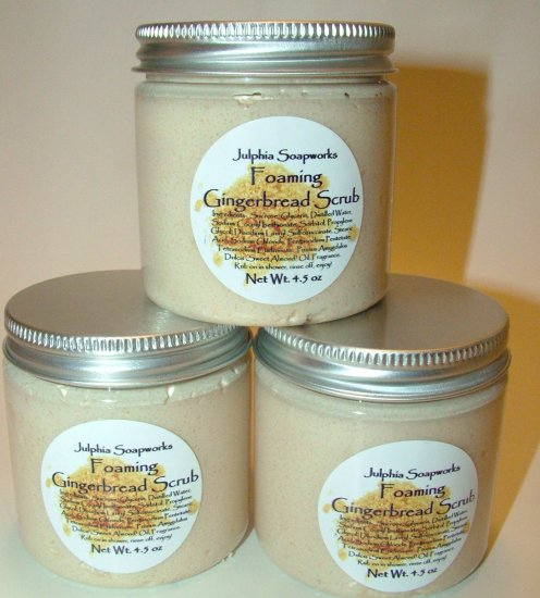 SALE Foaming Gingerbread Scrub - only 2 left
