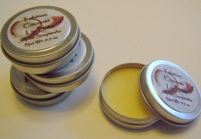 SALE Tahitian Coconut Lip Balm 0.30 oz Tin