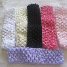 1.5 inch Crochet multi-headband mix- 6 Headbands