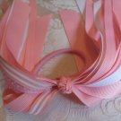 Ribbon Pony O's - light pink
