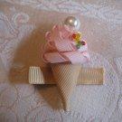 Handmade Ice Cream  Alligator clip