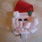 Handmade Santa Claus Alligator clip