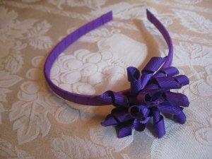 Hard Korker Headband - dark purple