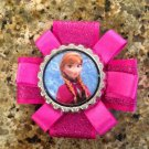Disney Princess Frozen Bottle Cap Hair Clip- Anna