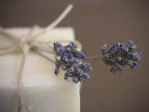 Handmade Soap Wild Flowers Olive Oil Wholesale Loaf