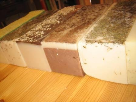 Handmade Soap Loaf Lye Soap Wholesale Bulk Apple Orchard