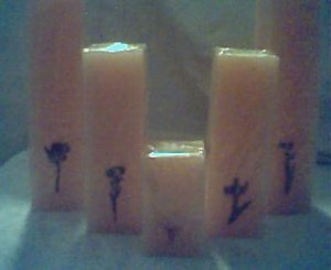 Cantaloupe Candles
