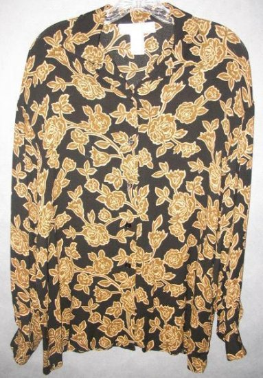 JONES NEW YORK Stunning blouse top size medium
