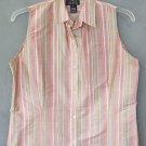 JONES NEW YORK silk blouse TOP size large
