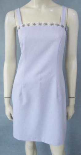 CITY TRIANGLES pretty lavender DRESS size 4