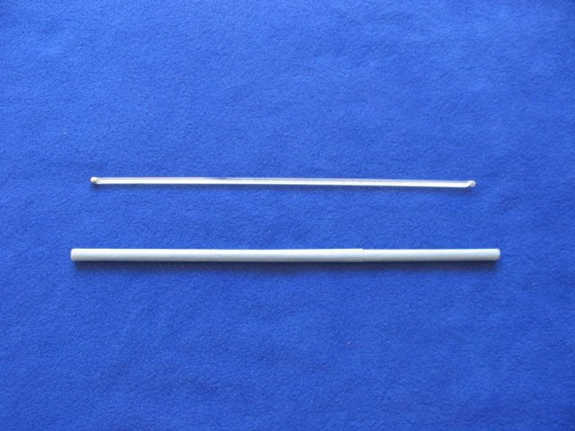 Thermometer: 0~360 Celsius, 4-5mm OD, 300mm length