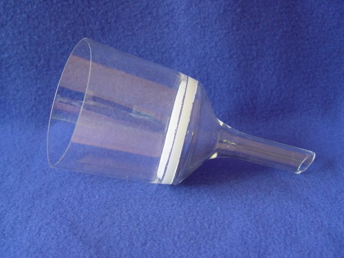 200ml Fritted Buchner filtering filter funnel